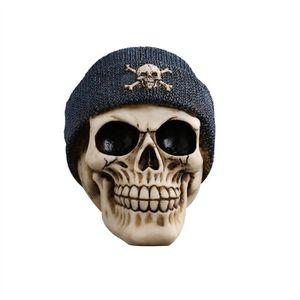 STATUE - STATUETTE Halloween Crâne Indien Décoration Drôle Scary Crân