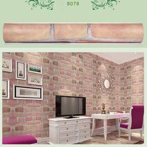 Lansman Moderne 5d Brique Pierre Style Papier Peint Chambre Fond