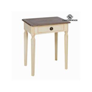 TABLE À MANGER SEULE Table avec tiroir by Craften Wood -  -