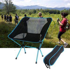 CHAISE DE CAMPING Chaise pliante camping en plein air portable Matér