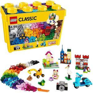 ASSEMBLAGE CONSTRUCTION LEGO Classic - Boîte de briques créatives deluxe -