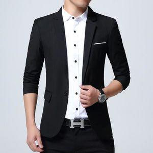 GILET DE COSTUME Hommes Costume 1 Bouton Veste de Style D affaires 9897a2441d9