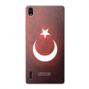COQUE - BUMPER URCOVER Coque Equipe de Turquie pour Huawei Ascend