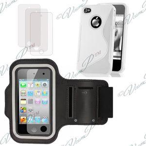 ACCESSOIRES SMARTPHONE Apple iPhone 4 4S 4G: Lot 5 accessoires COMPATIBLE