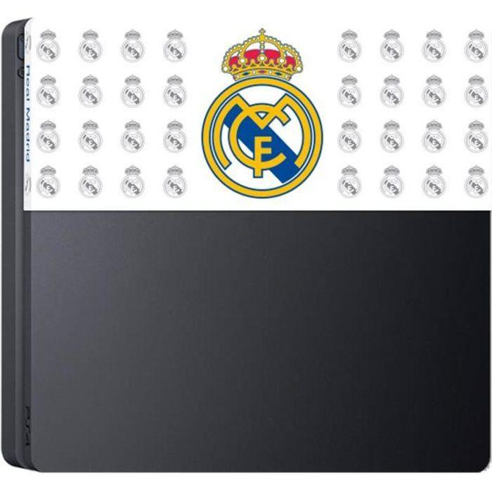 Façade de personnalisation Real Madrid pour Playstation 4 Slim
