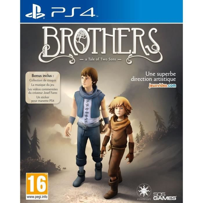 Brothers : A Tale of Two Sons Edition Reissue Jeu PS4