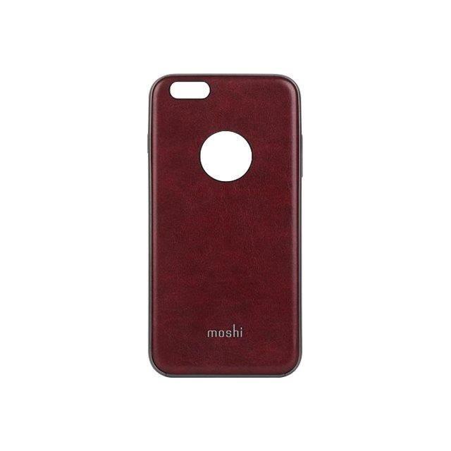 MOSHI Coque iGlaze Napa pour iPhone 6 Plus/6s Plus - Rouge