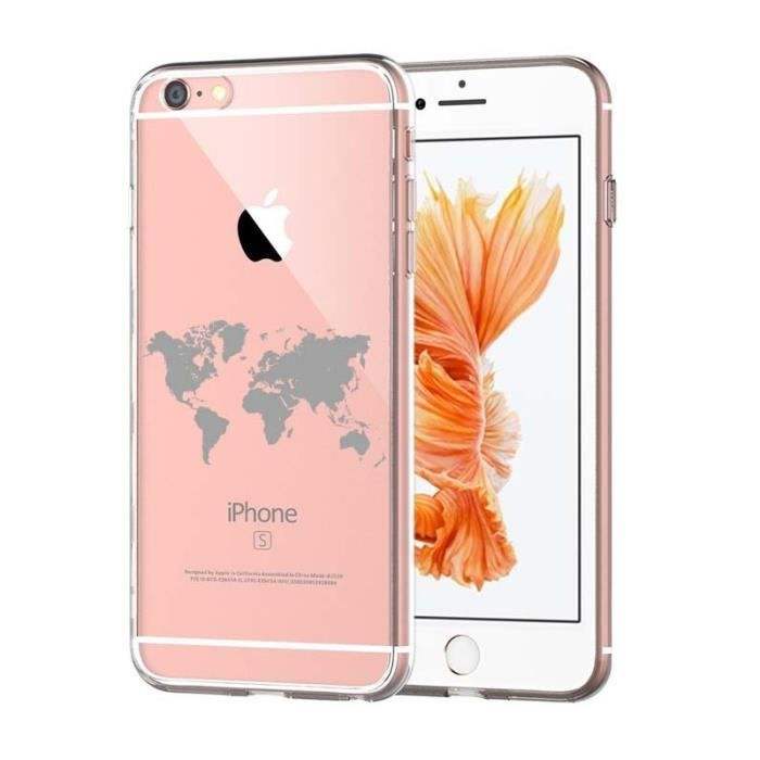 coque iphone xr map monde