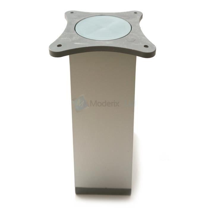 Cabinet Pied Reglable Aluminium Pied De Meuble 200mm Carre Achat
