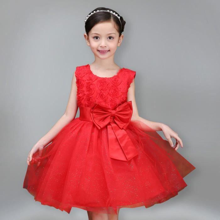 filles coréennes robe fille de fleur de jupe princesse
