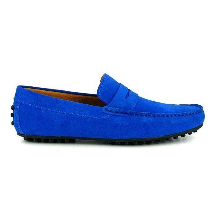 J.BRADFORD Chaussures Mocassins JB-BATIN Bleu Ciel - Couleur - Bleu WXaWj5sdXP