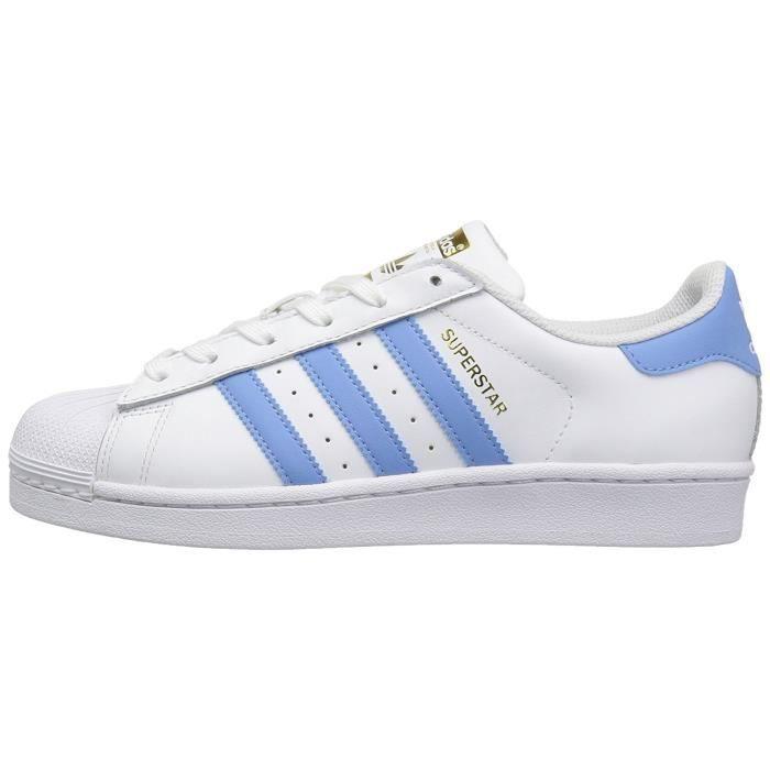 Adidas Originals Femme Superstar Baskets Bleu Fondation Blanc BCxWoerd