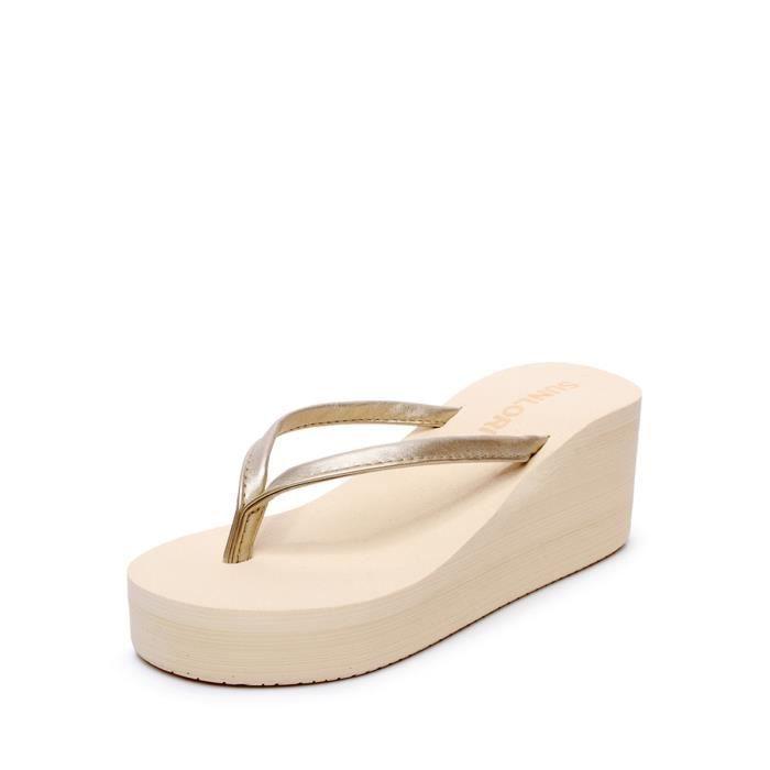Pantoufles style simple couleur fraîche Chaussures légères femmes 4599124