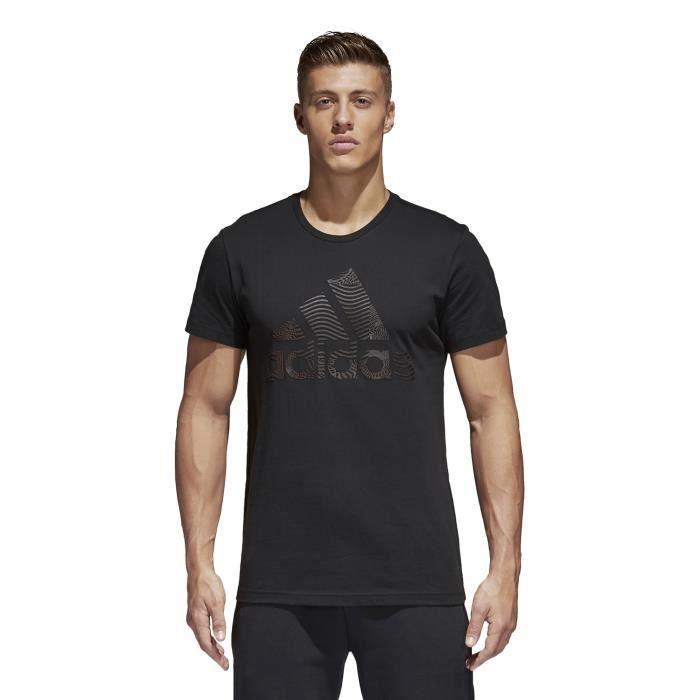 Pas 100 Shirt Homme Achat T Cher Vente Adidas Coton 4t0pwOfBOq