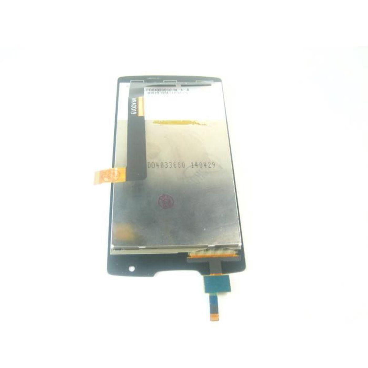 VITRE TACTILE ECRAN LCD Pour Lenovo A1000Noir