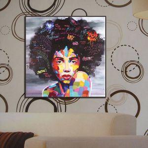 TABLEAU - TOILE yum® décoration murale Toile sans cadre Beauté Pho