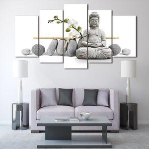 tableau toile zen achat vente tableau toile zen pas cher cdiscount. Black Bedroom Furniture Sets. Home Design Ideas