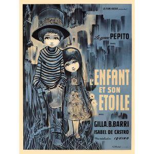 AFFICHE - POSTER ENFANT ET SON ETOILE (L') reproduction poster ciné