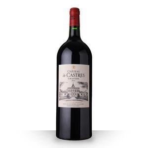 VIN ROUGE Château de Castres 2012 Rouge 150cl AOC Graves - V