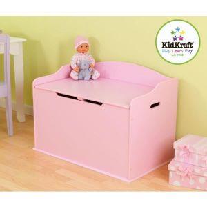 coffre a jouet fille achat vente pas cher. Black Bedroom Furniture Sets. Home Design Ideas
