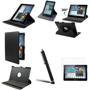 HOUSSE TABLETTE TACTILE Housse Etui pour Samsung Galaxy Tab 2 10.1 Noir…
