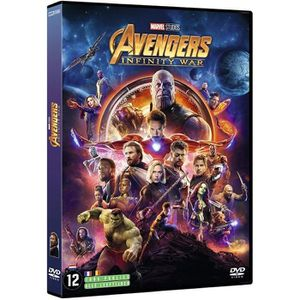 DVD FILM Avengers Infinity War DVD (2018)