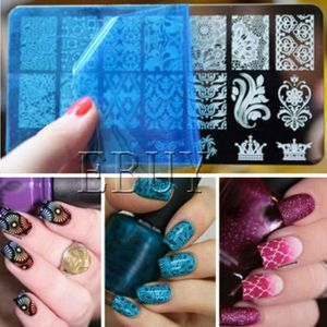 decoration ongles tampon