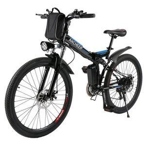 VTT VTT 26 pouces homme vélo électrique de montagne pl
