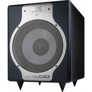 ENCEINTE ET RETOUR M-Audio BXSubwoofer Carbon  - Subwoofer actif 240W