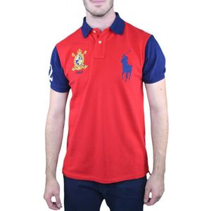 POLO Polo Ralph Lauren Big Poney rouge pour homme - Tai a559c8add916