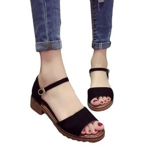 TONG Femmes Summer Lady Sandales douce Chaussures plate