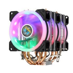 VENTILATION  NEUFU LED Ventilateur processeur 4 Caloducs Pour I