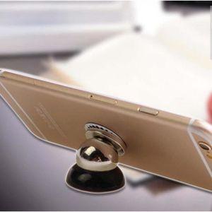 FIXATION - SUPPORT GPS 360° Magnétique Téléphone Support Voiture Aimant P