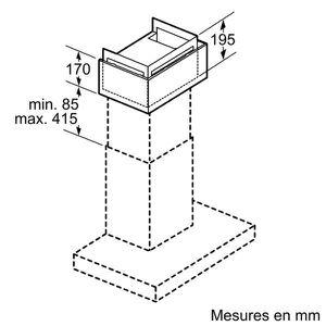 PIÈCE APPAREIL CUISSON SIEMENS Module de Recyclage CLEANAIR LZ57300