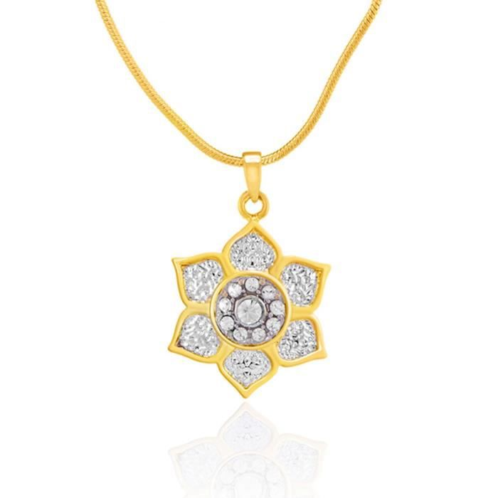 Womens Valentine Love Gold Plated Rose Enchantress Pendant With Crystals For Ps7291778g H8BZU