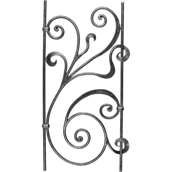 d cor fer forg pour grilles portails portes achat vente grille de d fense d cor fer forg. Black Bedroom Furniture Sets. Home Design Ideas