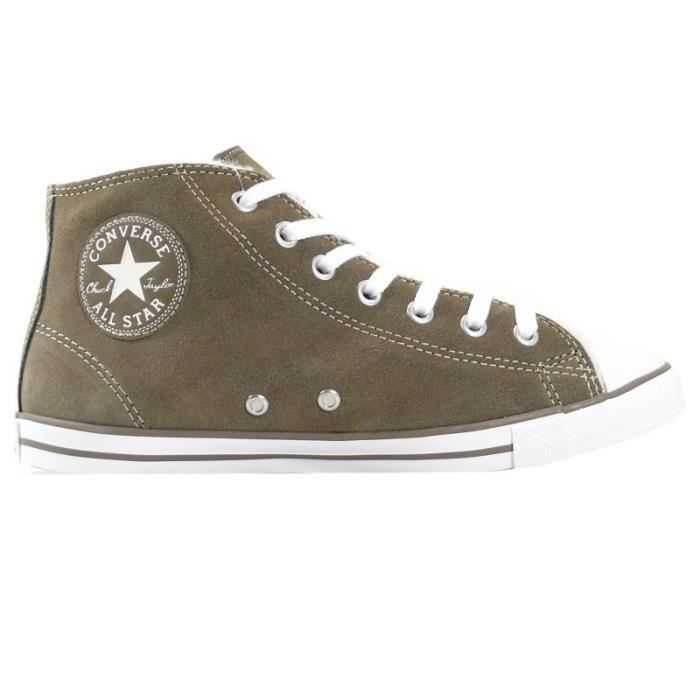 Converse - Converse Femmes Chaussures CT Dainty Mid brun 540308C Sneakers40,5 Réf 26881