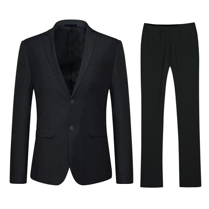 849413d4ef942 Costume homme noir - Achat   Vente pas cher