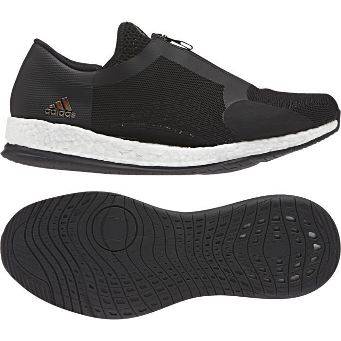 reputable site cd1e4 c625d CHAUSSURES DE RUNNING Chaussures femme adidas Pure Boost X Trainer Zip