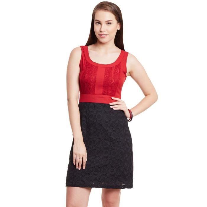 Womens Cotton Skater Dress AWG4V Taille-40