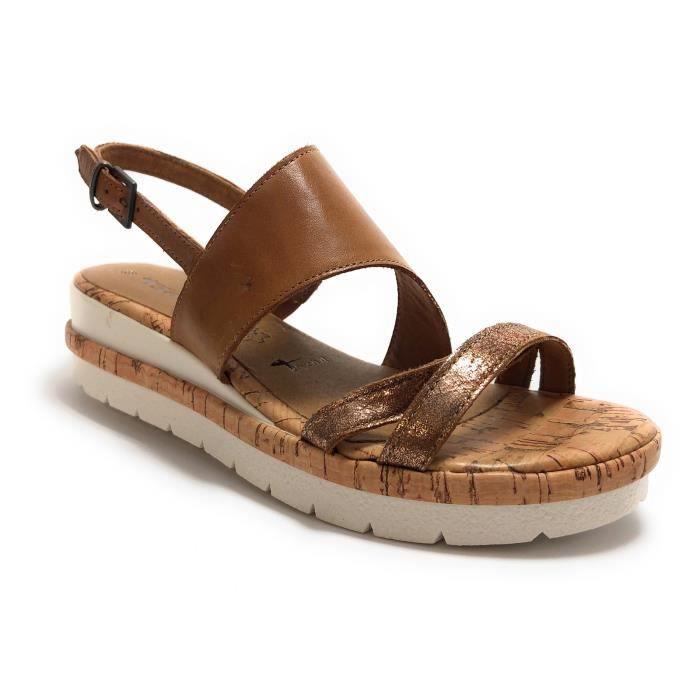 Sandales femme chaussures talon Tamaris comparez et achetez