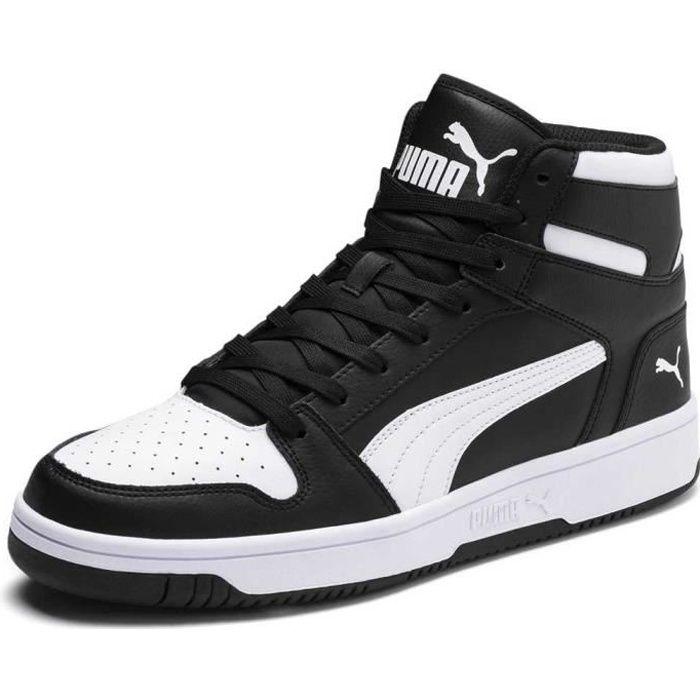 grand choix de 39324 670ba chaussures homme baskets puma rebound lay up sl. rebound layup sl est une  nouvelle interprétation d'un entraîneur classique inspiré