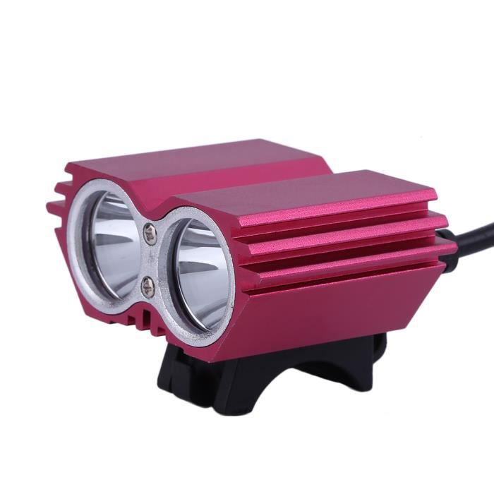 Puissant 5200lm Plug Vtc Ultra Lampe Vtt Pour Vélo 2xled Uk Avant Led Eclairage c3F5uT1JlK