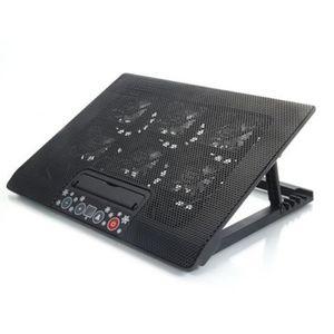 VENTILATION  LED réglable USB Stand 6 ventilateur Cooler Pad po