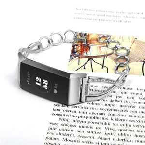 BRACELET DE MONTRE Bracelet de remplacement en métal avec strass pour