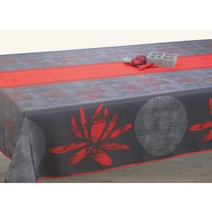 nappe anti tache rectangulaire achat vente nappe anti tache rectangulaire pas cher cdiscount. Black Bedroom Furniture Sets. Home Design Ideas
