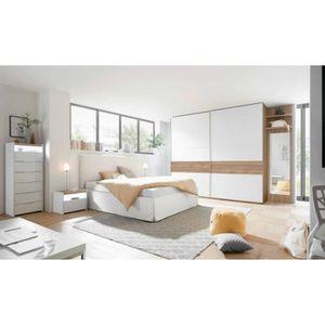 CHAMBRE COMPLÈTE  Chambre complète AMALTI bicolore lit 160x200 cm av