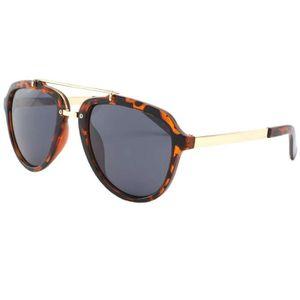 LUNETTES DE SOLEIL Lunette de soleil aviateur style vintage en écaill b83ed82c5ba