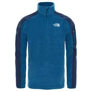 8c7dd3fa4f Vêtements homme Vestes polaires The North Face Glacier Delta 1/4 Zip Bleu  Bleu - Achat / Vente doudoune de sport - Cdiscount
