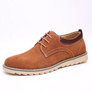 DERBY Chaussures en cuir des hommes casual chaussures De